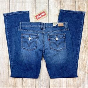 New LEVI'S Too Superlow 524 Bootcut Jeans